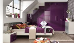 Who know purple rooms could look so good