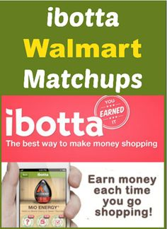 Walmart Ibotta Matchups are up!  We've got FREEbies and other fantastic deals!