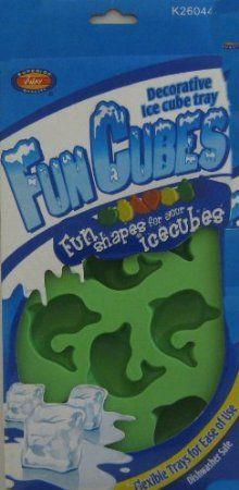Decorative Ice Cube Tray Dolphins: Amazon.com: Kitchen & Dining $5.49