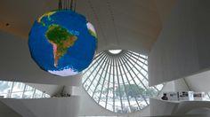 Interior do Museu do  Amanhã,  Rio de Janeiro