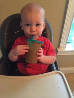 Guess what's less than a month away?! The final 30 day smoothie challenge of 2016. As you can see Baby Kai is a fan. Who's ready to commit to this one simple habit?? NOTE: this is not about *a* shake. It's not about buying some magic shake that will make everything change. It IS about committing to drink a protein packed smoothie everyday and creating a new habit for YOU that makes you feel better! #baby #babies #adorable #cute #cuddly #cuddle #small #lovely #love #instagood #kid #kids…
