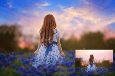 Summerana Skies - An Overlay and Action Collection for PSE6-12 @Summerana - Photoshop Actions for Photographers