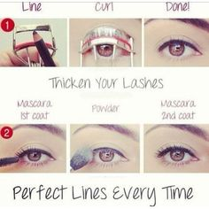 Eye-liner is the weirdest component of facial make-up to apply. It is an annoying thing too when it gets the wrong way. I have brought to you an amazing idea to make your eye-liner and mascara in a perfect and quick way every time you get to attempt on it. You also not need to…: