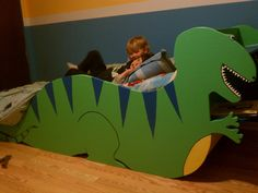 kids dinosaur bed - Google Search