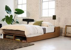 Sustainable, Space-saving Bamboo Bed