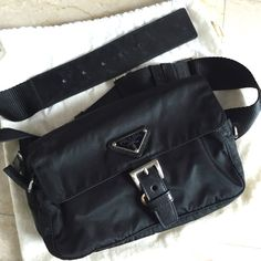 PRADA Preloved Waist Bag  - http://www.reebonz.com.sg/closets/item/420798