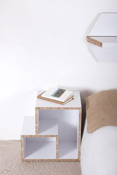 TETRA & EXA - Online store: www.cardboard.es #cardboard #furniture #eco #ecofriendly #reboard #design #ecohouse #headboard