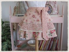 Boutique Style Tiered Apron by anniegaprons on Etsy