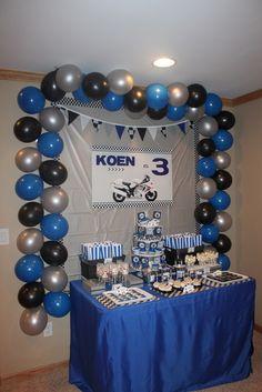 "Photo 5 of 24: Sportbike (Hayabusa) / Birthday ""Motorcycle 3rd Birthday"" | Catch My Party"