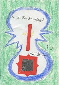 Selbstgemachtes Lesebuch - 2. Klasse Origami, Preschool, Writing On Chalkboard, 2nd Grades, Stories For Children, Diy Home Crafts, Origami Paper, Origami Art