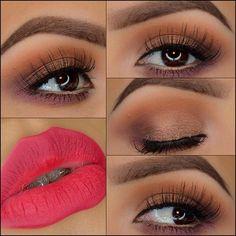 Love the eye makeup!