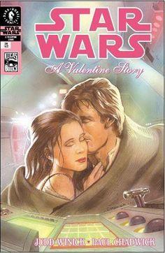 "Comic: ""Star Wars: A Valentine's Story"". (Han & Leia)"