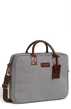 This is not your grandpa's brief. @ted_baker London Oxford Weave Briefcase @Nordstrom