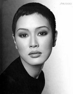 Bald asian women