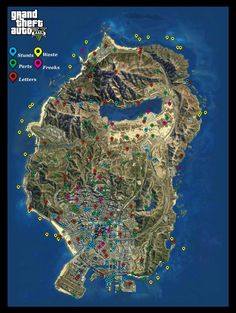 All Collectible Locations in GTA5