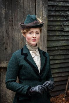 Lady Chatterley's Lover-Inspiration for Madeleine's riding habit