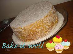 Bake it Well...: Bolo de Côco