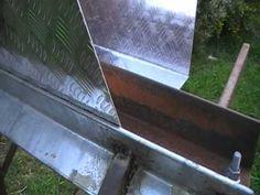 Homemade Bending Tool/sheet metal brake - YouTube