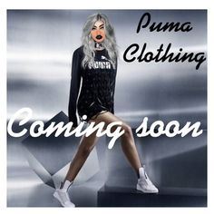 """Puma Clothing LineComing Soon"" by kimoraadelesimmons ❤ liked on Polyvore featuring moda"