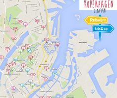 Copenhagen City, Map, Travel, Viajes, Location Map, Destinations, Maps, Traveling, Trips
