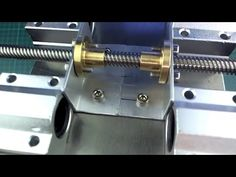 DIY mini CNC machine part 3 (gantry assembly) Machine Parts, Cnc Machine, Arduino Cnc, Simple Arduino Projects, Router Cutters, Router Jig, Diy Barn Door Hardware, Diy Robot, Diy Cnc