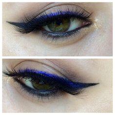 gradient winged eyeliner