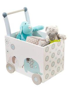 Reciclar e Decorar Fabiana Tardochi Wooden Toy Boxes, Elephant Nursery, Wood Toys, Toy Storage, Baby Room Decor, Diy Toys, Boy Room, Kids Furniture, Kids And Parenting