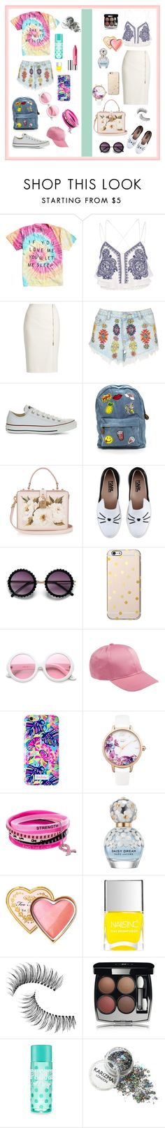 """Разные стили"" by explorer-14579595798 on Polyvore featuring мода, River Island, MaxMara, Lipsy, Converse, Dolce&Gabbana, Karl Lagerfeld, ZeroUV, Lilly Pulitzer и Marc Jacobs"