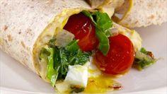 Giada+De+Laurentiis+-+Egg+and+Kale+Breakfast+Wraps