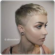 Image result for pixie cut with a fade