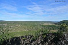 Vistas de la Dehesa de Cotillas desde el Mirador del Ceño