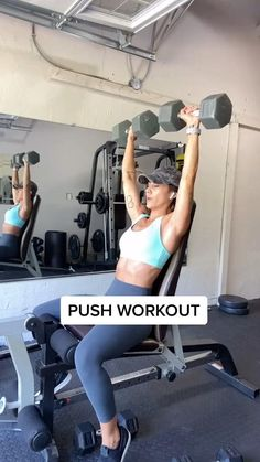 Chest, Shoulders & Triceps Workout