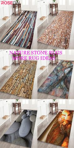 Rosegal nature style bath rugs brick print area rugs simple style apartment studio and home decor rug ideas Rooms Home Decor, Diy Home Decor, Stone Rug, Style Simple, Winter Home Decor, Cheap Carpet, Bath Rugs, Geometric Designs, Floor Rugs