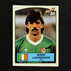 Image result for mark lawrenson panini sticker euro88 Baseball Cards, Stickers, Retro, Image, Neo Traditional, Sticker, Decal, Mid Century