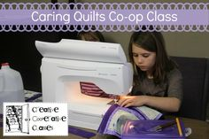 Caring Quilts Co-op Class (includes syllabus)