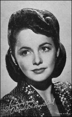 Photo of Olivia de Havilland for fans of Classic Movies.