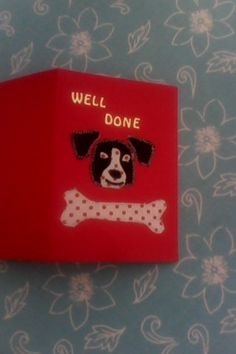 applique cards for a lovely dog lover made by me x Applique Letters, Hand Applique, Personalized Tee Shirts, Cream Tees, Adult Children, Applique Designs, Recycled Materials, Dog Lovers, Scrap