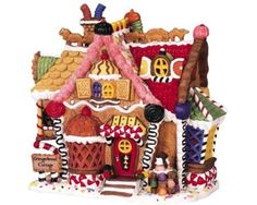 Amazon.com - Lemax Sugar N' Spice Village Collection Gingerbread Cottage #45047