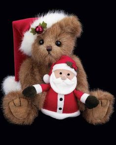 Bearington Santa and Claus Bear
