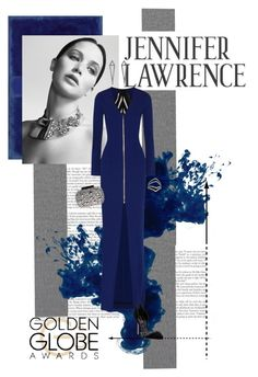 """Jennifer Lawrence"" by cricket0036 ❤ liked on Polyvore featuring Christian Dior, Roland Mouret, Eva Fehren, Lipsy and Sergio Rossi"