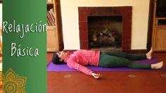 Relajación guiada de Yoga, con explicación de como relajarte mejor estando acostado en postura de Shavasana.