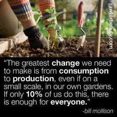consumption to production