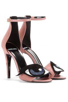 Pierre Hardy sandals, $965, mytheresa.com. - HarpersBAZAAR.com