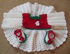 Baby Girl's Sweater Set Baby Sweater by TillieLuvsTreasures