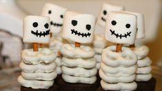 Rezept: Kleine essbare Skelette für Halloween
