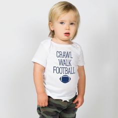 Our super soft baby tees are a great staple to any outfit and are sure to a fan favorite with our one of the kind designs to fit any style. Golf Baby, Hockey Baby, Football Baby, Field Hockey, Basketball Baby, Baseball, Personalized Products, Personalized Baby, Baby Fish