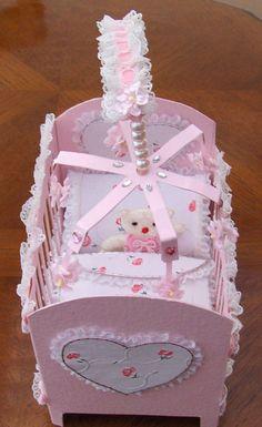 Baby girls cot