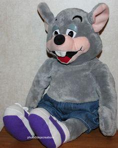 """Chucky Chuck E. Cheese 17"""" Plush Stuffed Animal Toy Collectible Rare at eBay"""