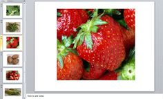 Healthy eating teaching resource - Photos of fruit and vegetables for a lesson on healthy eating