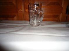 """Vintage 1970's Waterford Crystal 6"""" Beer Stein. Maeve Pattern. Ireland. AS IS #WaterfordCrystal"""